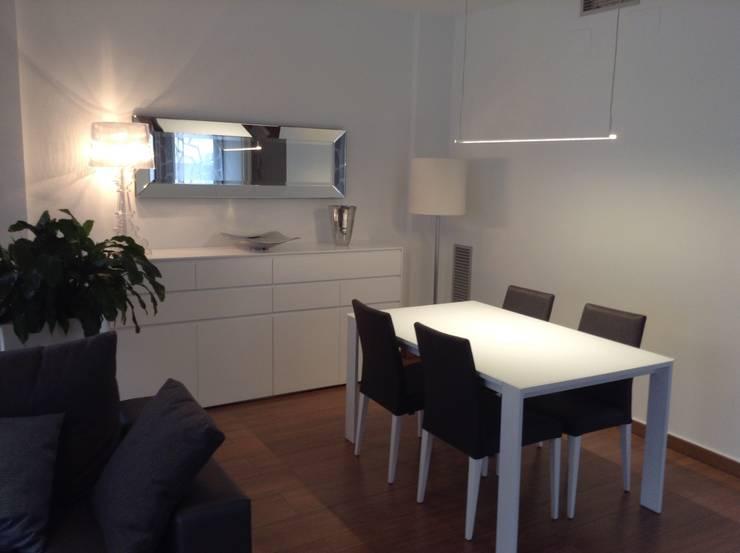 Vista comedor: Comedores de estilo  de Gramil Interiorismo II - Decoradores y diseñadores de interiores