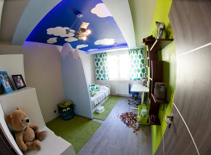 Nova: styl , w kategorii Pokój dziecięcy zaprojektowany przez Arkadiusz Grzędzicki projektowanie wnętrz