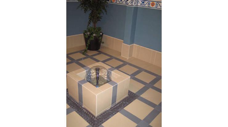 Fuente interior: Spa de estilo clásico de Gramil Interiorismo II