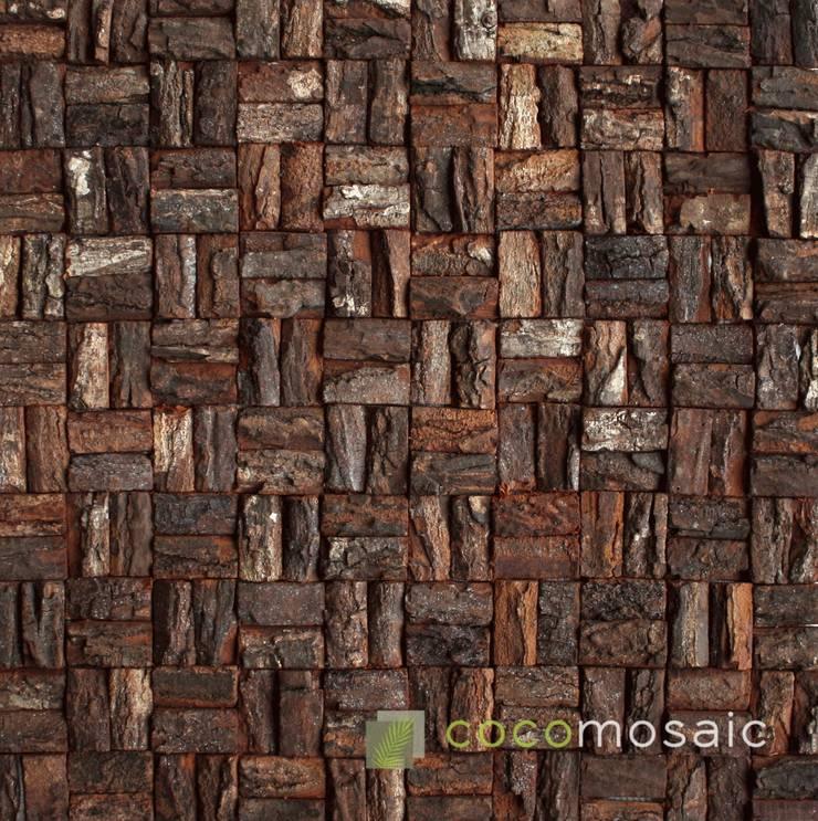 Cocomosaic | Wooden bark small:  Muren & vloeren door Nature at home | Cocomosaic | Wood4Walls