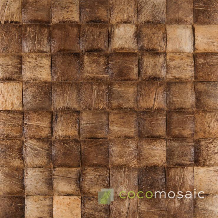 Cocomosaic | Coco large:  Muren & vloeren door Nature at home | Cocomosaic | Wood4Walls