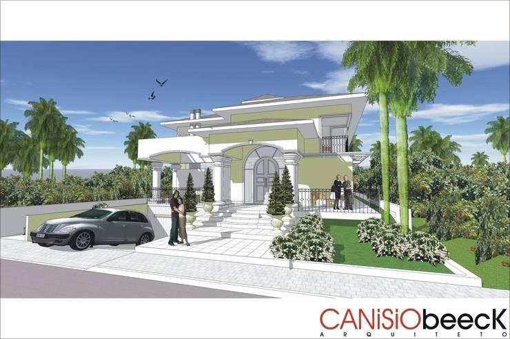 A18 Residência: Casas ecléticas por Canisio Beeck Arquiteto