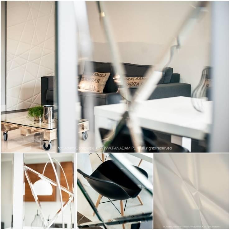 Salonowa rewolucja: styl , w kategorii Salon zaprojektowany przez Arkadiusz Grzędzicki projektowanie wnętrz
