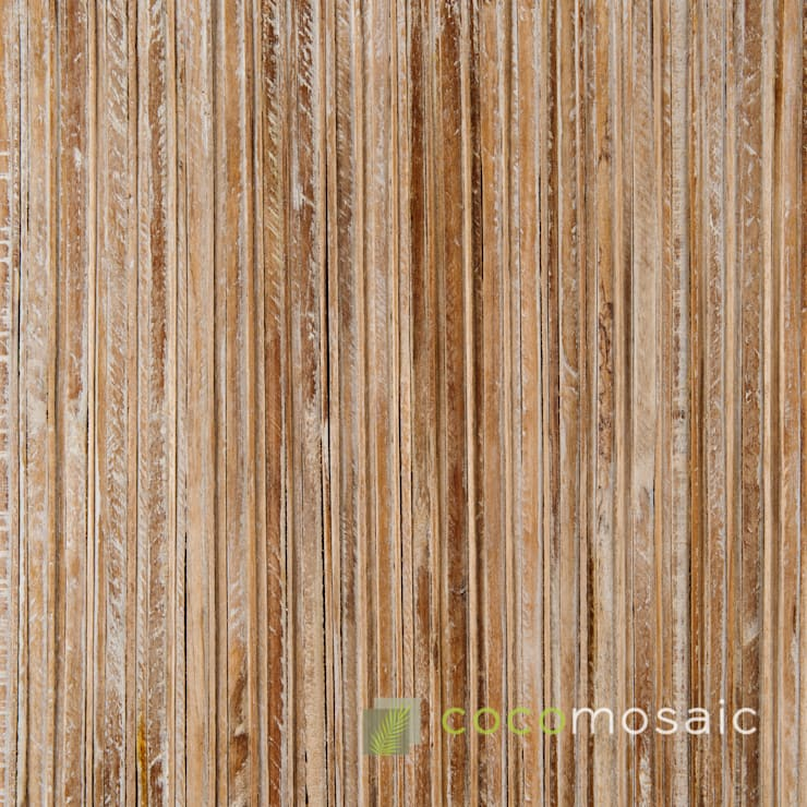 Cocomosaic | Envi Slat White Wash: modern  door Nature at home | Cocomosaic | Wood4Walls, Modern