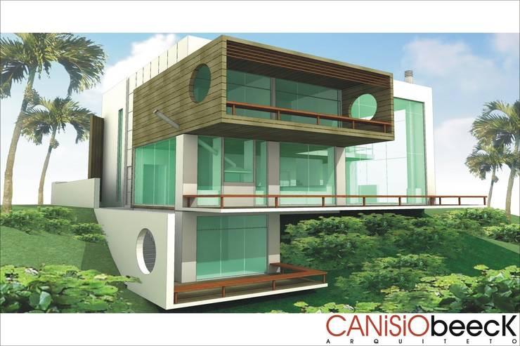 A24 Residência: Casas  por Canisio Beeck Arquiteto