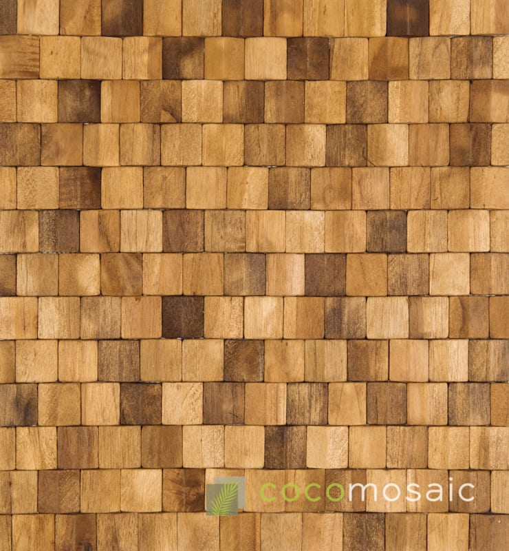 Cocomosaic | Neo Pyramid Espresso: modern  door Nature at home | Cocomosaic | Wood4Walls, Modern