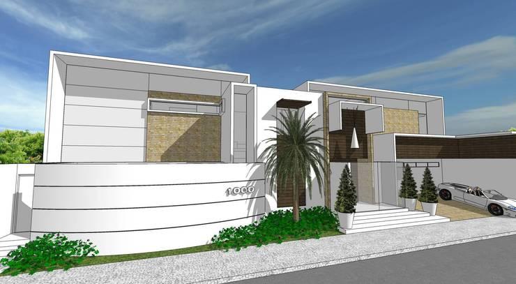 A25 Residência: Casas  por Canisio Beeck Arquiteto