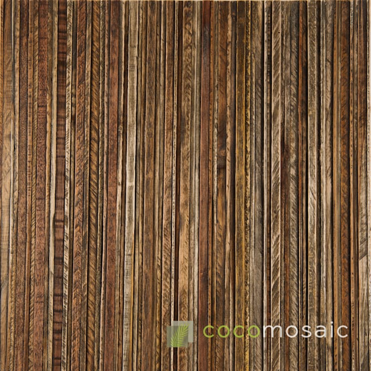 Cocomosaic | Envi Slat grey Seal: modern  door Nature at home | Cocomosaic | Wood4Walls, Modern