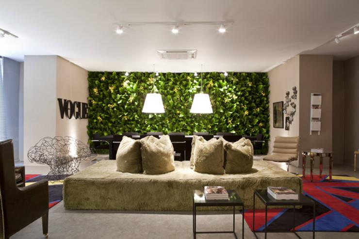 Projetos Diversos: Salas de jantar  por Quadro Vivo Urban Garden Roof & Vertical