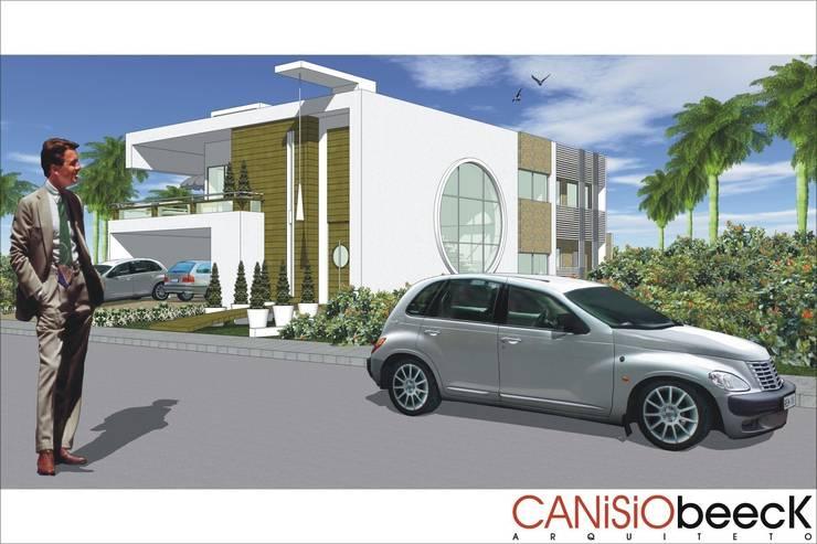 A26 Residencia: Casas modernas por Canisio Beeck Arquiteto