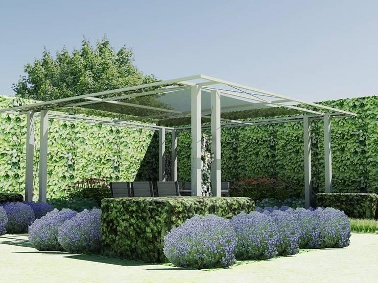 Jardines de estilo industrial por Bladgoud-tuinen