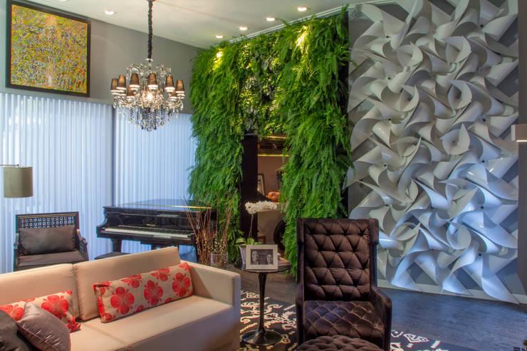Гостиная в . Автор – Quadro Vivo Urban Garden Roof & Vertical