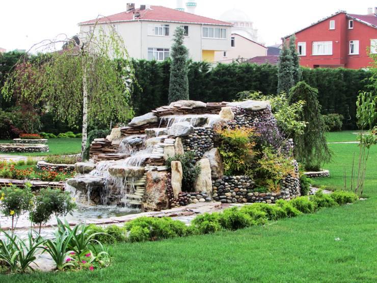 Peyzaj Mimarlık – Sultanbeyli Fabrika Bahçesi:  tarz Ofis Alanları