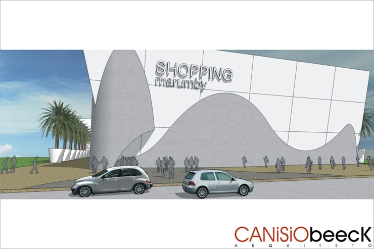 Shopping Marumby:   por Canisio Beeck Arquiteto