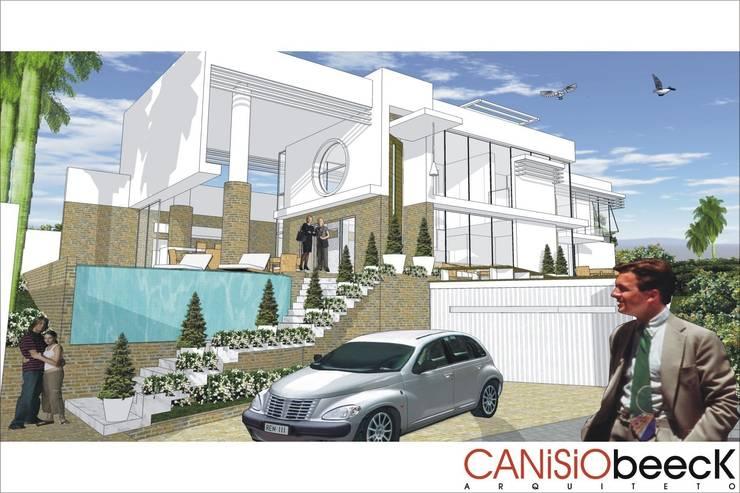 A28 Residência: Casas  por Canisio Beeck Arquiteto