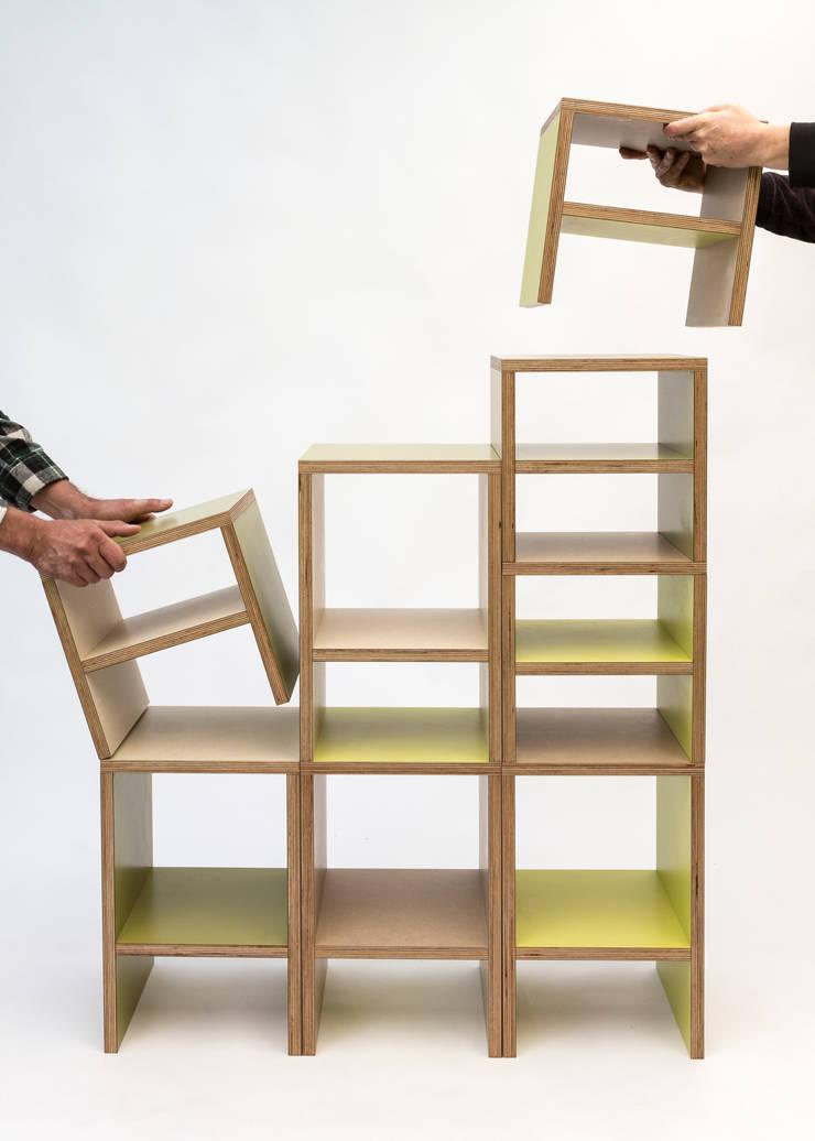 kwartkuub voor grote mensen: modern  door Meubelmakerij Luitjens, Modern