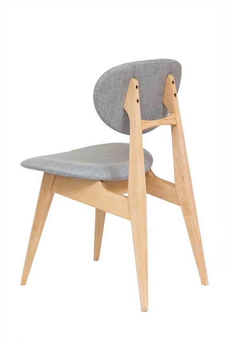krzesł | szara perła: styl , w kategorii  zaprojektowany przez Magiel,Klasyczny