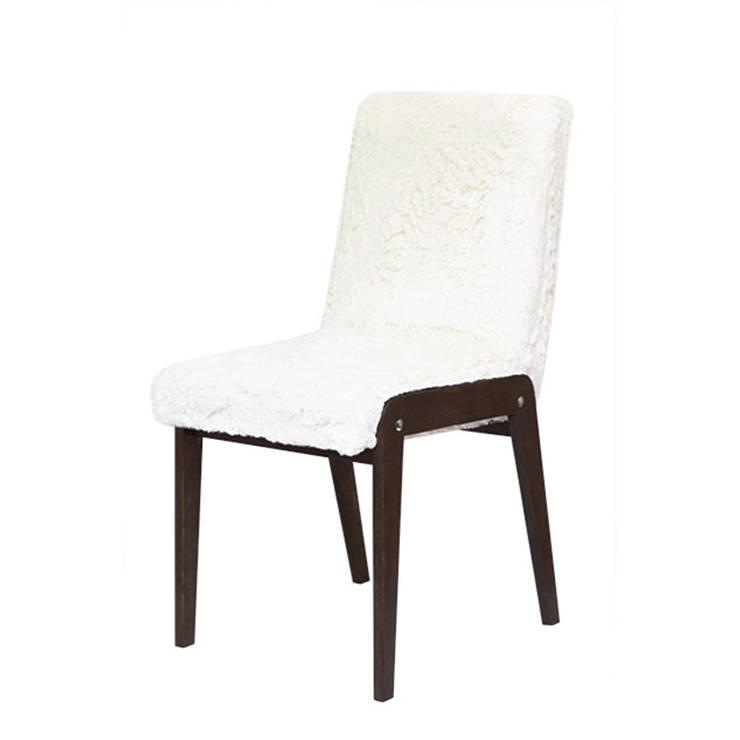 krzesło | biały miś: styl , w kategorii Domowe biuro i gabinet zaprojektowany przez Magiel