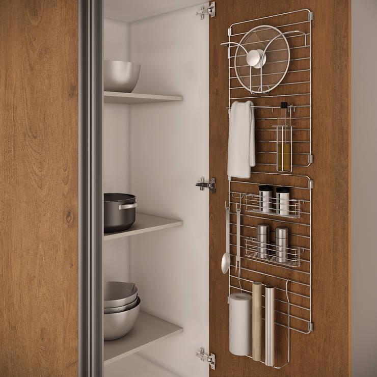 Projekty,  Kuchnia zaprojektowane przez Masutti Copat