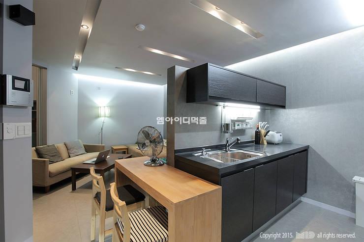 Cocinas de estilo moderno por MID 먹줄
