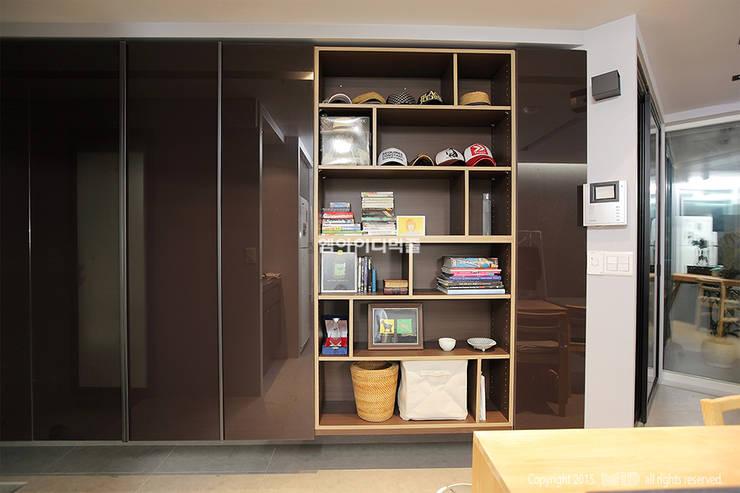 영등포구 당산동 19평형 원룸형 아파트: MID 먹줄의  드레스 룸