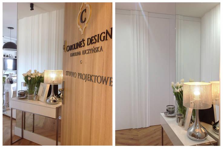 Studio projektowe.: styl , w kategorii Domowe biuro i gabinet zaprojektowany przez CAROLINE'S DESIGN