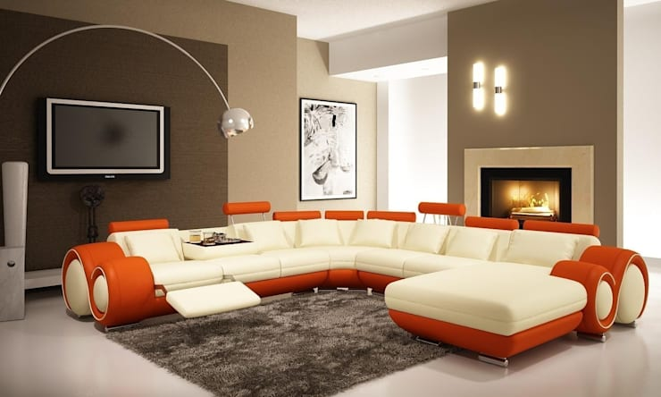 Living room by Daire Tadilatları