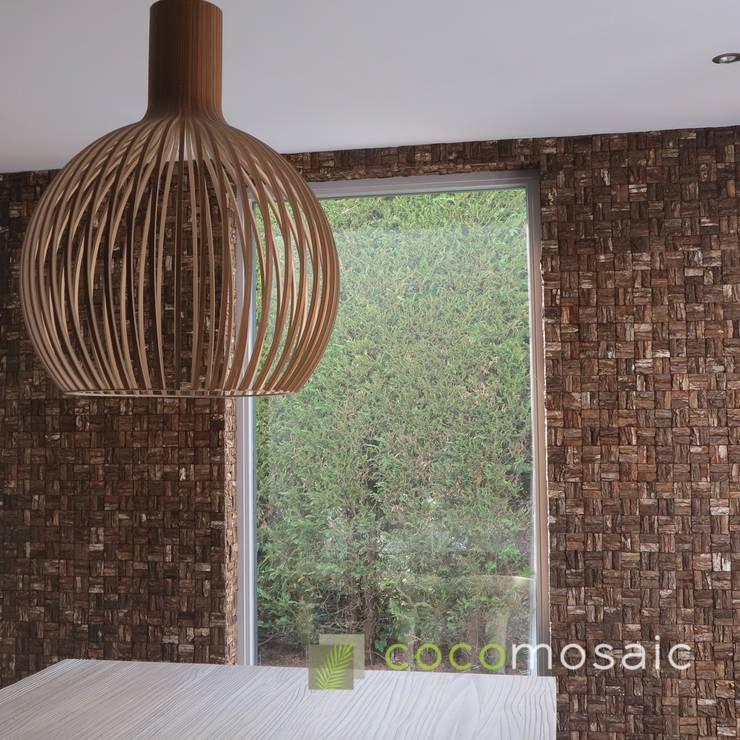 Cocomosaic | Wooden bark large:  Keuken door Nature at home | Cocomosaic | Wood4Walls, Modern