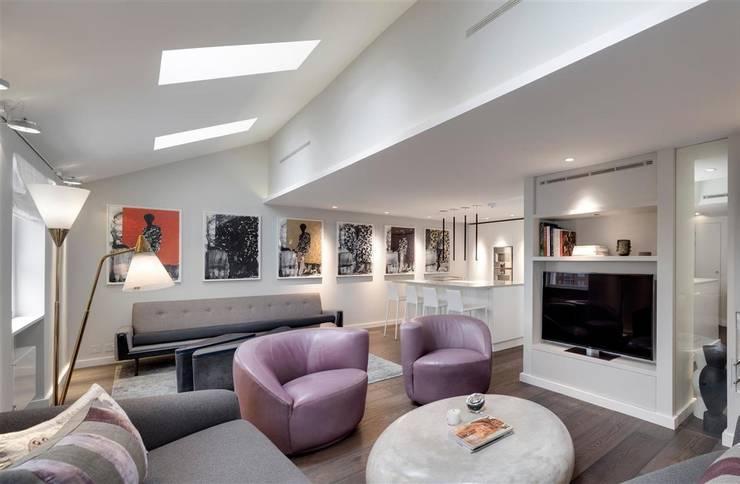 Wilton Terrace: modern Kitchen by Flower Michelin