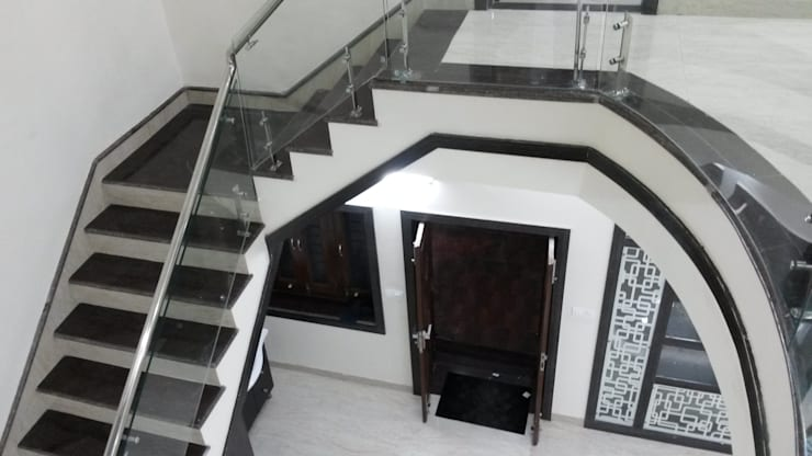 LALIT KUMAR FULWANI:  Corridor & hallway by MAA ARCHITECTS & INTERIOR DESIGNERS