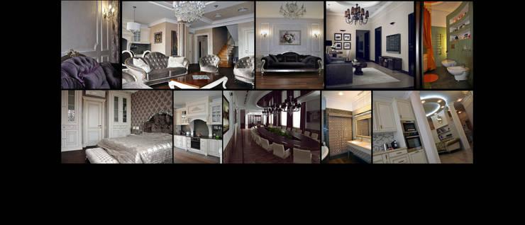 ОБЛОЖКА: Гостиная в . Автор – студия дизайна архитектурной среды 'S-KVADRAT'