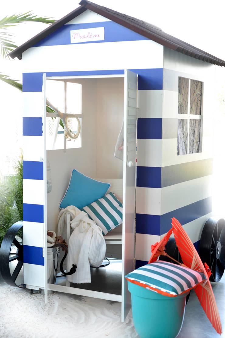 Beach house:  Fitnessruimte door Groothandel in decoratie en lifestyle artikelen