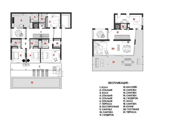 Дом в Сагаро, Испания. IND Archdesign.:  в . Автор – IND Archdesign