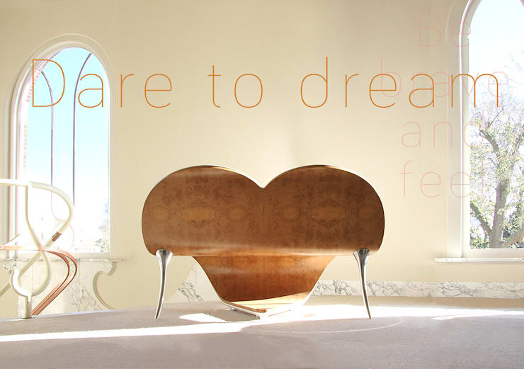 Dare to Feel: modern  door Heartseats, Modern