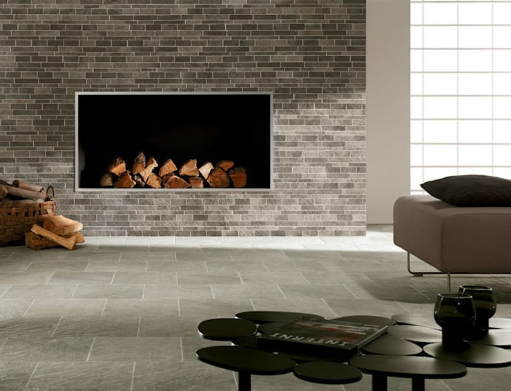 minimalistic Living room by Target Tiles