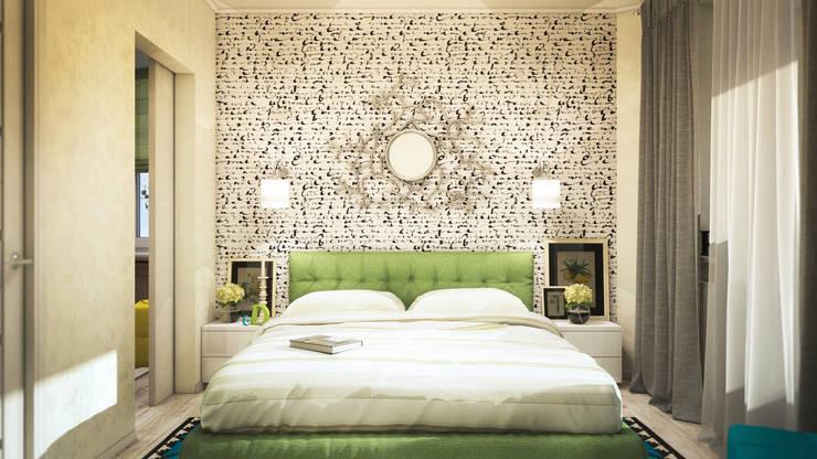 Спальня: Спальни в . Автор – tatarintsevadesign