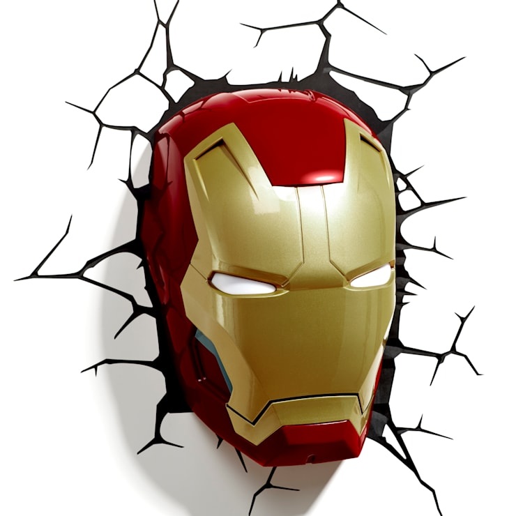 3D LIGHT FX IRON MAN MASK: modern Nursery/kid's room by RED5
