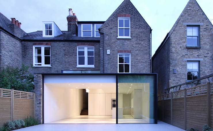 ELMS ROAD : modern Houses by LBMVarchitects