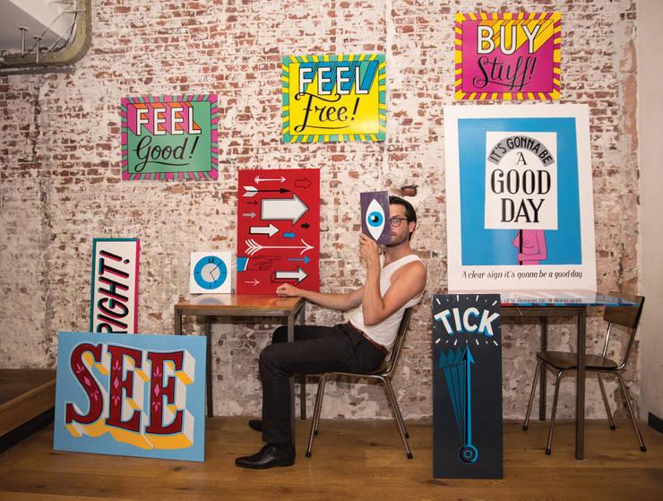 Signpainted Projects:  Kunst  door Lennart Wolfert - Graphic Artist