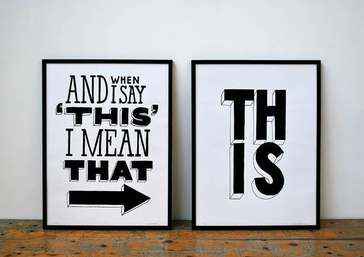 I Mean That!:  Kunst  door Lennart Wolfert - Graphic Artist