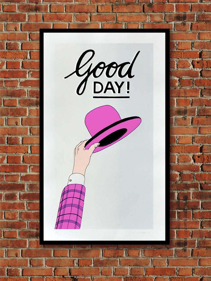 Good Day!:  Kunst  door Lennart Wolfert - Graphic Artist