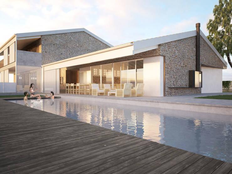 Maisons de style  par Memento Architects