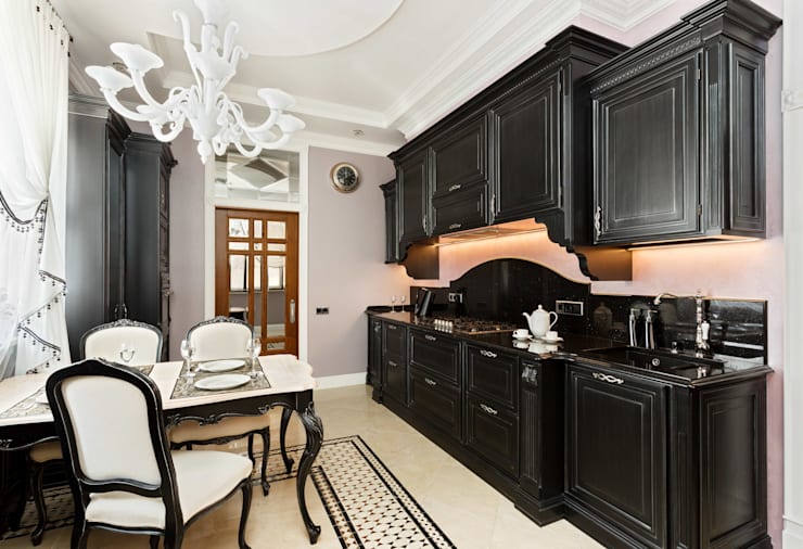 مطبخ تنفيذ AGRAFFE design