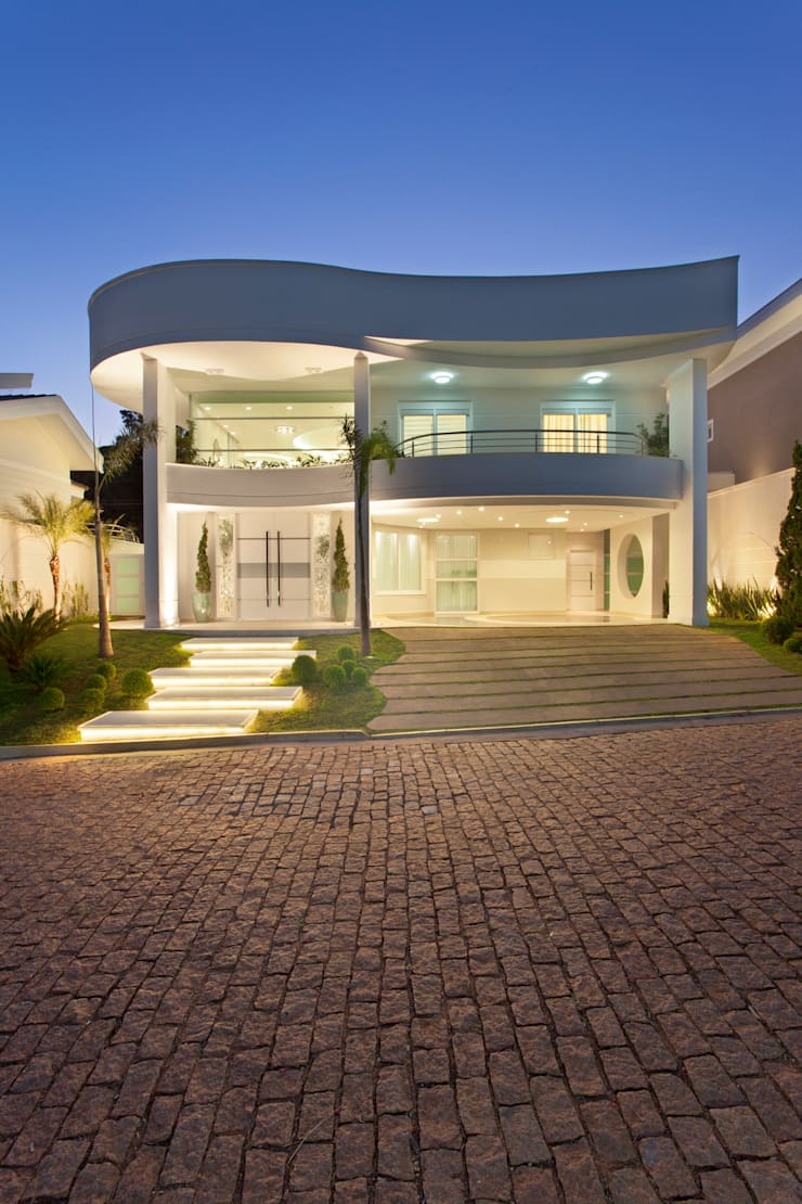 Casa Buriti Casas modernas por Arquiteto Aquiles Nícolas Kílaris Moderno