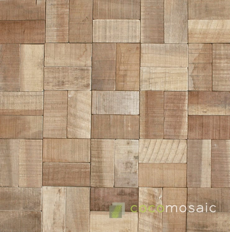 Cocomosaic | Mosaic Natural: modern  door Nature at home | Cocomosaic | Wood4Walls, Modern