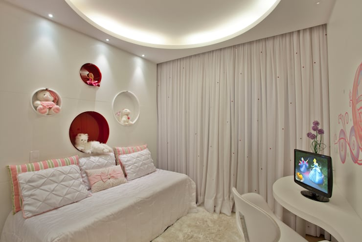غرفة الاطفال تنفيذ Designer de Interiores e Paisagista Iara Kílaris