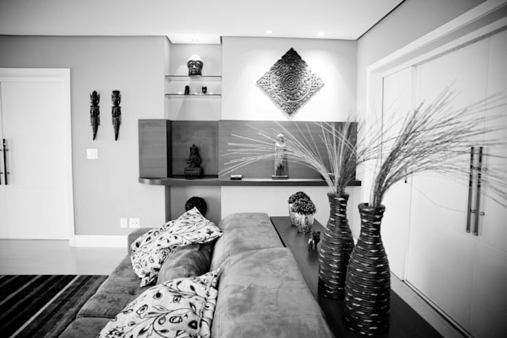 Sala de Estar: Salas de estar modernas por INOVA Arquitetura