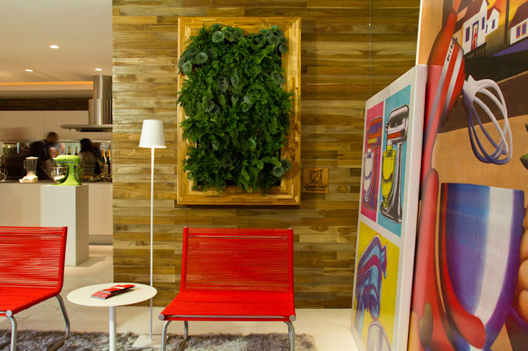 Quadro Vivo® : Cozinha  por Quadro Vivo Urban Garden Roof & Vertical