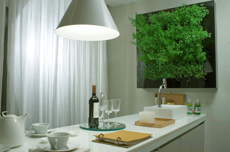 Kitchen by Quadro Vivo Urban Garden Roof & Vertical