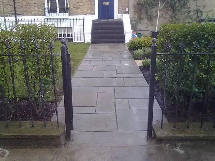 Entrance pathway:  Garden by Greenmans Yard